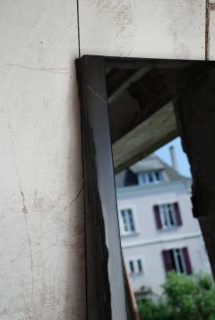 Frederic Saulou Black Slate Mirror Narcisse by Fre de ric Saulou - 850038