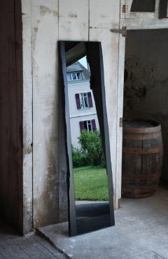 Frederic Saulou Black Slate Mirror Narcisse by Fre de ric Saulou - 850042