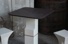 Frederic Saulou Frederic Saulou Ravissant Table and Stools - 850219