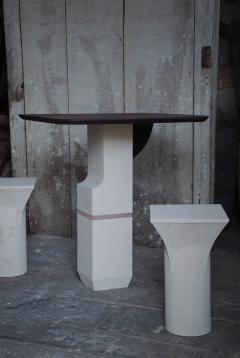 Frederic Saulou Frederic Saulou Ravissant Table and Stools - 850221