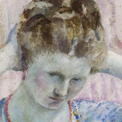 Frederick Carl Frieseke The Coral Necklace - 682822