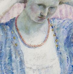 Frederick Carl Frieseke The Coral Necklace - 682827
