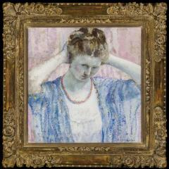 Frederick Carl Frieseke The Coral Necklace - 682842