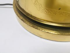 Frederick Cooper Lamp Co Chinoiserie Tea Canister Brass Table Lamp - 1683534