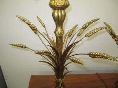 Frederick Cooper Lamp Co Lovely Pair Mid century Modern of Frederick Cooper Sheaf of Wheat Table Lamp - 1843385