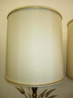 Frederick Cooper Lamp Co Lovely Pair Mid century Modern of Frederick Cooper Sheaf of Wheat Table Lamp - 1843386