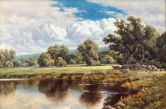 Frederick D Ogden The Wooded Meadow  - 1115668