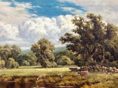 Frederick D Ogden The Wooded Meadow  - 1115671
