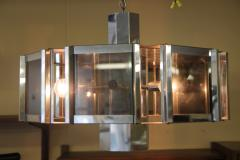 Frederick Raymond Frederick Raymond Chrome Chandelier from the 1970s - 1047947
