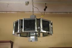 Frederick Raymond Frederick Raymond Chrome Chandelier from the 1970s - 1047953