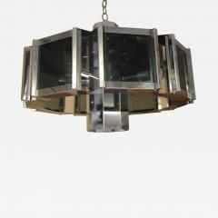 Frederick Raymond Frederick Raymond Chrome Chandelier from the 1970s - 1050092