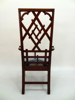 Frederick Victoria Diamond Back Fretwork Chair - 375290