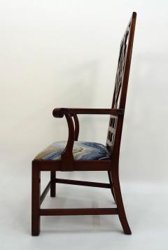 Frederick Victoria Diamond Back Fretwork Chair - 375293