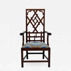 Frederick Victoria Diamond Back Fretwork Chair - 538704