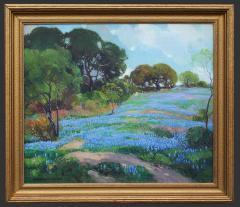 Frederick W Becker Texas Bluebonnets - 1058921