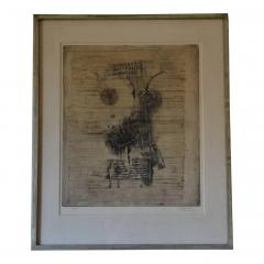 Frederick Weinberg Large Framed Lithograph by Frederick Weinberg - 1080917
