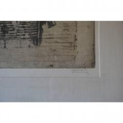 Frederick Weinberg Large Framed Lithograph by Frederick Weinberg - 1080922