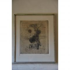 Frederick Weinberg Large Framed Lithograph by Frederick Weinberg - 1080923