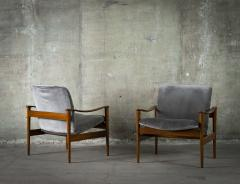 Frederik A Kayser Pair of Frederik Kayser Easy Chairs - 285521