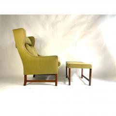 Frederik Kayser Style Lounge Chair and Ottoman - 1703939