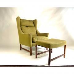 Frederik Kayser Style Lounge Chair and Ottoman - 1703957
