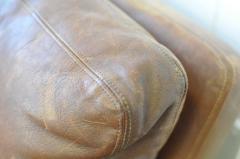 Fredrik A Kayser Fredrik Kayser Leather and Rosewood Sofa - 370701