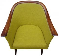 Fredrik A Kayser Midcentury Club Chair by Fredrik Kayser for Vatne - 555769