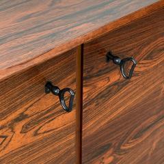 Fredrik Kayser Rosewood Four Door Sideboard by Fredrik Kayser for Viken Mobelfabrik - 928089