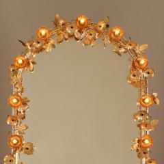 Free standing Gracie flower light mirror - 2020995