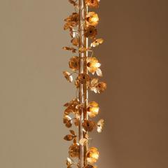 Free standing Gracie flower light mirror - 2020997