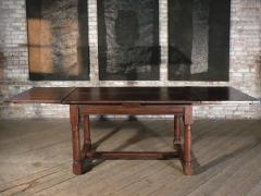 French 16th Century Henry II Walnut Extending Table - 684596