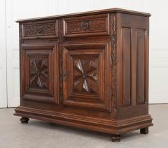 French 18th Century Louis XIII Style Walnut Buffet - 1043781