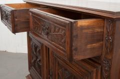 French 18th Century Louis XIII Style Walnut Buffet - 1043795