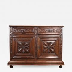 French 18th Century Louis XIII Style Walnut Buffet - 1043871