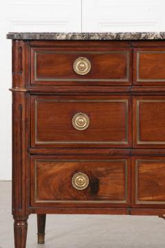 French 18th Century Louis XVI Style Mahogany Commode - 1110819