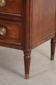French 18th Century Louis XVI Style Mahogany Commode - 1110824