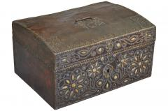 French 18th Century Marriage Coffre Trunk - 1581240