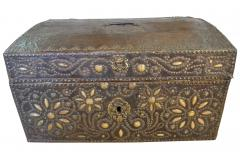 French 18th Century Marriage Coffre Trunk - 1581241