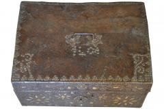 French 18th Century Marriage Coffre Trunk - 1581243