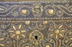 French 18th Century Marriage Coffre Trunk - 1581244
