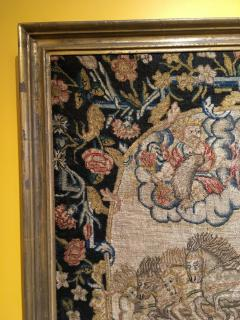 French 18th Century Needlework Tapestry Picture - 926435