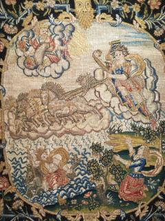 French 18th Century Needlework Tapestry Picture - 926436