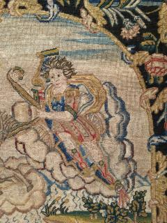 French 18th Century Needlework Tapestry Picture - 926438