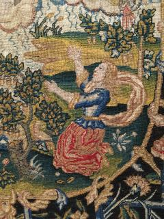 French 18th Century Needlework Tapestry Picture - 926439