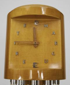 French 1940s Maple Grandfather Clock - 477680