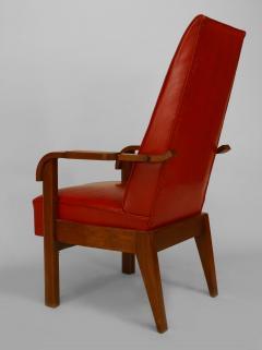 French 1940s Oak Armchair - 424905