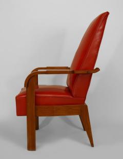 French 1940s Oak Armchair - 424906