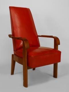 French 1940s Oak Armchair - 424907