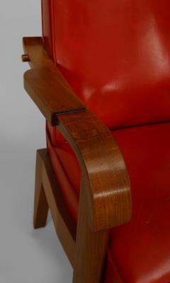 French 1940s Oak Armchair - 424908
