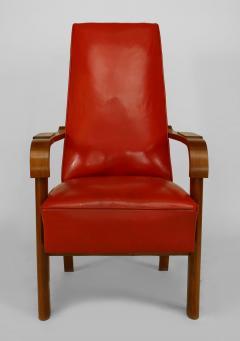 French 1940s Oak Armchair - 424909
